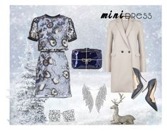 """""""Tis the Season"""" by looking-for-a-place-to-happen ❤ liked on Polyvore featuring Harris Wharf London, self-portrait, Benedetta Bruzziches, Lene Bjerre, Paul Andrew, minidress, WhySoBlue and ShimmerandShine"""