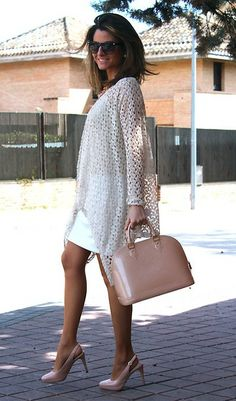 Soft and elegance / Suave y elegante (by Silvia  Garcia Blanco) http://lookbook.nu/look/4752803-Soft-and-elegance-Suave-y-elegante