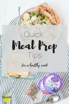 Meal prep is one of my biggest tools to eat well during the week. I've partnered with Dannon Light & Fit to show how I incorporate their yogurt in my day. Easy Meal Prep, Healthy Meal Prep, Quick Meals, Healthy Cooking, Healthy Tips, Healthy Recipes, Cooking Tips, Easy Dinners, Eating Healthy