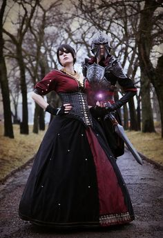 Morrigan #cosplay from Dragon Age Inquisition (That was fast...game's not even out yet)