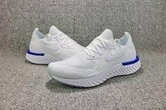 Nike Epic React Flyknit White Blue [nikeepicreact-13000] - $64.95 : | nike shoes | Scoop.it Cheap Running Shoes, Nike Shoes Cheap, Nike Free Shoes, Nike Running, Cheap Nike, Nike Kwazi, Nike Men, Nike Air Max Shop, Nike Shoes Online