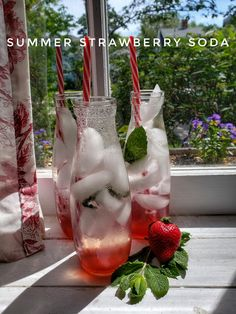 Summer Strawberry Soda