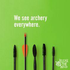 We see #archery everywhere.