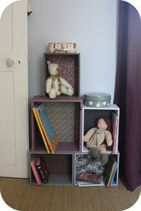 I'm thinking recover boxes and glue together great diy storage for the kids rooms.