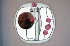 Panel by Mackintosh House For An Art Lover - Glasgow architecture