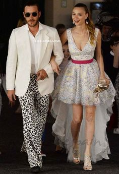 Pierre Casiraghi and wife Beatrice Borromeo of Monaco