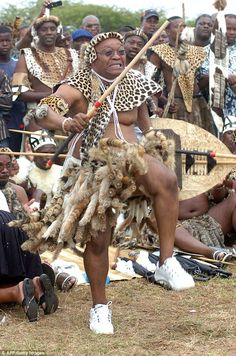 WITHIN the Zulu culture of Jacob Zuma, the newly elected president of the African National Congress, few moments in a man's life are more celebrated when he takes a wife - even if he already has others. African Life, African Culture, African History, African Art, Zulu Traditional Attire, African Traditional Dresses, Afro, Zulu Warrior, African National Congress