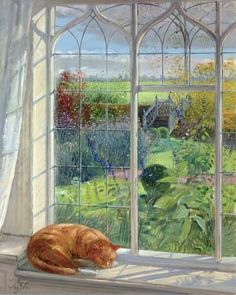 "Timothy Easton - ""Sleeping Cat and Chinese Bridge"""