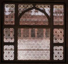 Arabesque Mysticism - ecru - linens & accessories for your home Metal Walls, Metal Wall Art, Jaali Design, Lattice Screen, Roman Clock, Islamic Patterns, Geometric Patterns, Islamic Motifs, Islamic Designs