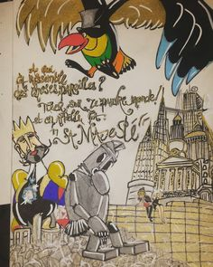Le Roi et L'Oiseau de Grimaut et Prevert by Azzaro