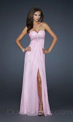 A-Line Sweetheart Long Chiffon Prom Dress 139.99