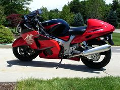 2005 Hayabusa, AWESOME Red Paint , Suzuki Hayabusa, Http://www. Super BikesRed  ...