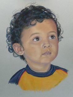 leyton; pastel painting