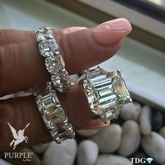 Check this elegant and magnificent Emerald cut, eternity bands by @LLDDIAMONDS via @the_diamonds_girl #purplebyanki #diamonds #luxury #loveit #jewelry #jewelrygram #jewelrydesigner #love #jewelrydesign #finejewelry #luxurylifestyle #instagood #follow #instadaily #lovely #me #beautiful #loveofmylife #dubai #dubaifashion #dubailife #mydubai #EmeraldCut #Band #Eternity