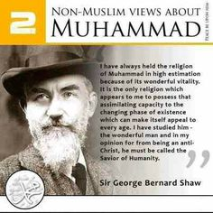 Non- Muslim Views about Muhammad (PBUH) – Islam; The Religion of Peace Islamic Qoutes, Islamic Inspirational Quotes, Muslim Quotes, Muslim Sayings, Islamic Images, Islamic Dua, Islamic Pictures, Religious Quotes, Hadith Quotes