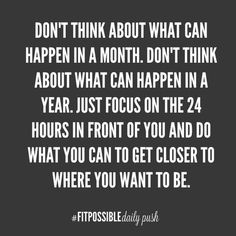 You Daily Health and Fitness Motivation provided by @fitpossibledailypush . Make sure you REPIN if you like seeing these quick quotes. This will help spread inspiration and motivation to more people searching! facebook.com/...