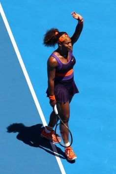 """Luv & Luv Slam Bagels: Serena Williams' 3rd career double-bagel at a Slam... 2013 Serena d. Gallovits-Hall; Andrea Hlavackova drubbing at the 2012 U.S. Open; also 2003 Roland Garros d. Schett, ....""""You give people any type of chance, especially in tennis, the match is never over until you shake hands.""""~ Serena Williams ------ Chris Evertt (ret.) had 13 shutouts...The great Margret Court (ret.) had 7 as did Steffi Graf (ret.). Kim Clijsters (ret.) had 6."""