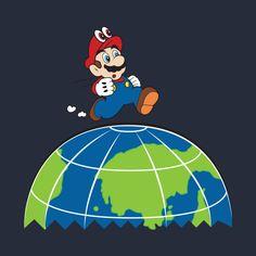 Super Mario Odyssey - Mario Odyssey - T-Shirt | TeePublic