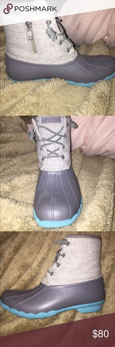 Sperry Rainboot Waterproof Rubber Sperry Boots size 8 women's. BRAND NEW!! NEVER WORN. Sperry Shoes Winter & Rain Boots