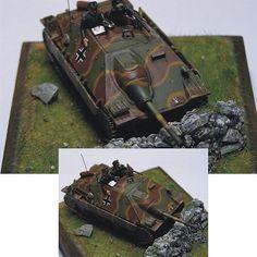 Jagdpanzer 38(t) Hetzer Italeri 1/72  From: plasticmodels  Unknown modeler  #scalemodel #plastimodelismo #miniatura #miniature #miniatur #hobby #diorama #scalemodelkit #plastickits #usinadoskits #udk #maqueta #maquette #modelismo #modelism