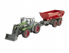 The Revell Radio Control Tractor & Trailer is a radio controlled construction vehicle in the Revell R/C range.