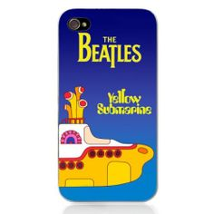 Generic Movie Theme Collection Case For iPhone 4/4S- Yellow Submarine Color Yellow on Wanelo