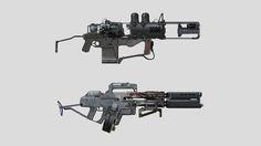 Guns, Tipa_ Graphic on ArtStation at https://www.artstation.com/artwork/0o0VV