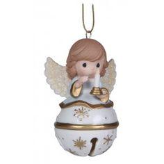 Angel Jingle Bell Ornament $20.00