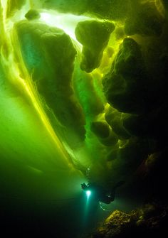 ice cave diving
