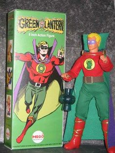 I'm pretty sure this is a custom-made Mego action figure, but I like how they used a Staton/Giordano era-specific image for the packaging. #greenlantern —MT via @Art Sequential on Twitter and facebook.com/comixcomixcomix