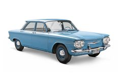 1960 Chevrolet Corvair Sedan. THIS was my fist car - color and all.