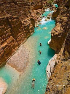 Arizona Trip Planner - Best Destinations To Add To Your Travel Itinerary : Havasu Creek, Grand Canyon National Park Places Around The World, The Places Youll Go, Places To See, Vacation Ideas, Vacation Spots, Vacation Places, Italy Vacation, Parque Nacional Do Grand Canyon, Destination Voyage