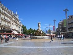 FRANCE: Montpellier - delightful city and to great base to explore Languedoc.