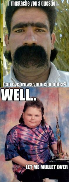 Can eyebrows your computer!!!