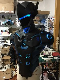 Overwatch Genji Carbon Fiber Skin Cosplay Armor Characters: Genji Carbon Fiber Skin Material: EVA PVC Available for: Cosplay, Party, Carneval, Halloween Condition: Made to Order Package includes: As Image Tailoring Time: 15-40 days Shipping Method Shipping to Everywhere Else: no...