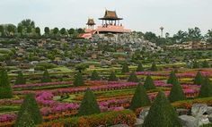 The Nong Nooch Botanical Garden, Thailand