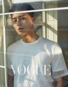 Park Seo Joon for 'VOGUE' Taiwan magazine. The actor graced the cover of the Taiwanese magazine as he displayed the popular 'K-flow' fashion. Park Seo Joon rocks different outfits showing off his amazing style. Cute Korean, Korean Men, Asian Men, Korean Face, Lee Hyun Woo, Asian Actors, Korean Actors, Korean Dramas, Emission Tv