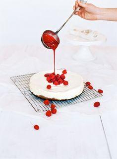CHEESECAKE CHIC RASPBERRY #cake #sweet #cook