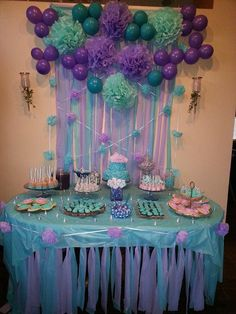 Birthday games mermaid 25 ideas for 2019 Mermaid Birthday Party Decorations Diy, Mermaid Theme Birthday, 18th Birthday Party, Birthday Games, Birthday Party Themes, Girl Birthday, Birthday Ideas, Games Mermaid, Mermaid Baby Showers