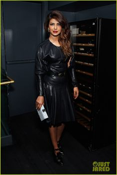priyanka chopra paper magazine party with prabal gurung 04 Priyanka Chopra attends the Paper Magazine Party celebrating her new single on Wednesday (January 15) at La Cenita in New York City. The 31-year-old actress just…