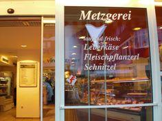 Austrian Recipes, Neon Signs, Butcher Shop, Lucerne