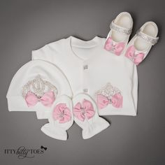 Crown Jewels Set (in 6 colors) - Itty Bitty Toes  - 9