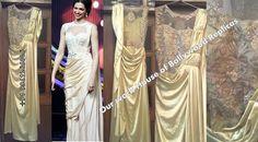 Customised Saree Gown #deepika