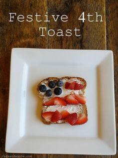 Festive 4th Toast http://www.raraandaggie.com/yum-yum-yum/festive-4th-toast/