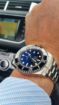 Rolex deepsea dweller blue horizon Oct 2016.