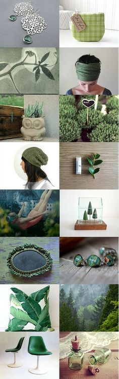 Into The Green by Gergana on Etsy--Pinned with TreasuryPin.com