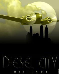 Diesel City Airlines