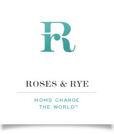 ///mom startup_awesome logo and example of name Roses & Rye: Moms Change The World