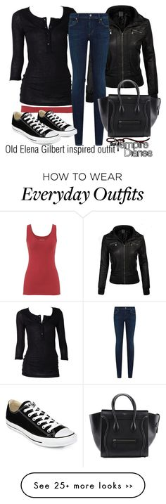 """""""Old Elena Gilbert inspired outfit/TVD"""" by tvdsarahmichele on Polyvore"""