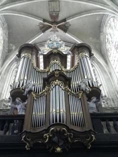 pipe organ in Brussels
